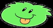 GreenPuffleMatCutoutPetShop