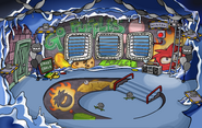 Puffle Party 2009 Underground Pool