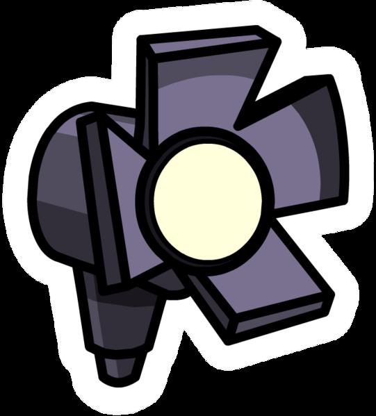 Pin de Luz del Escenario