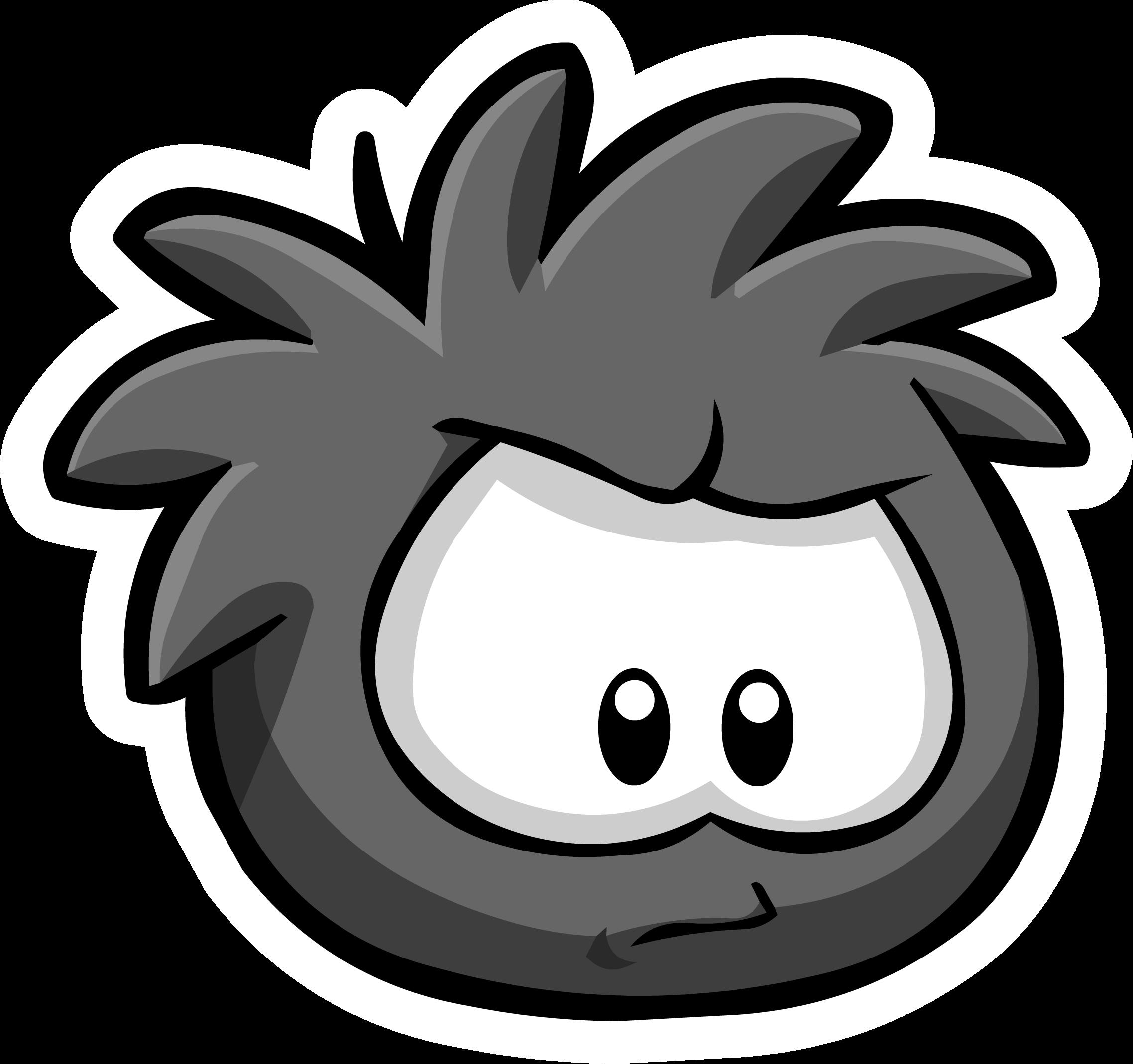 Black Puffle Pin