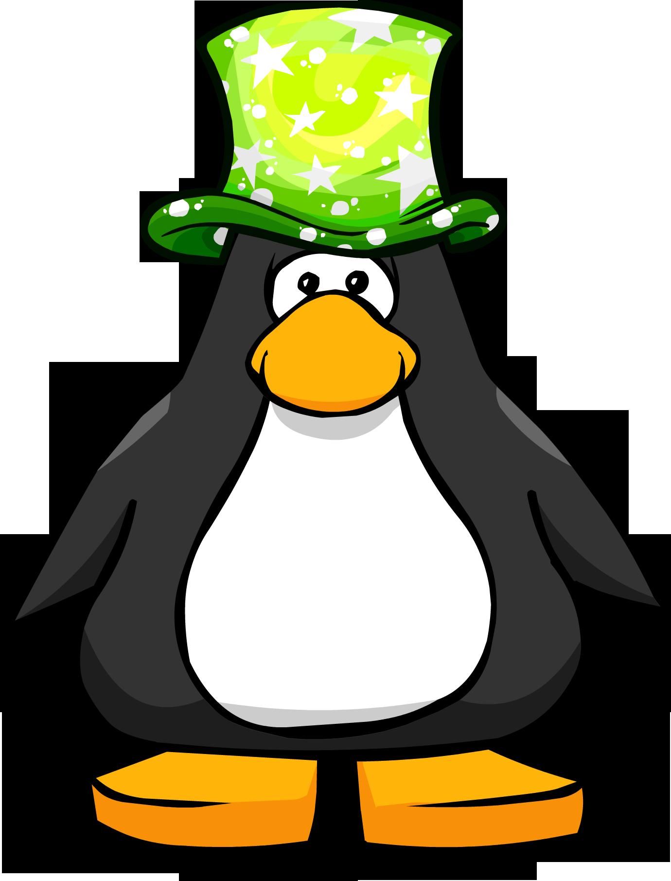 Green Cosmic Hat