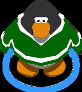 GreenHockeyJerseyinGame