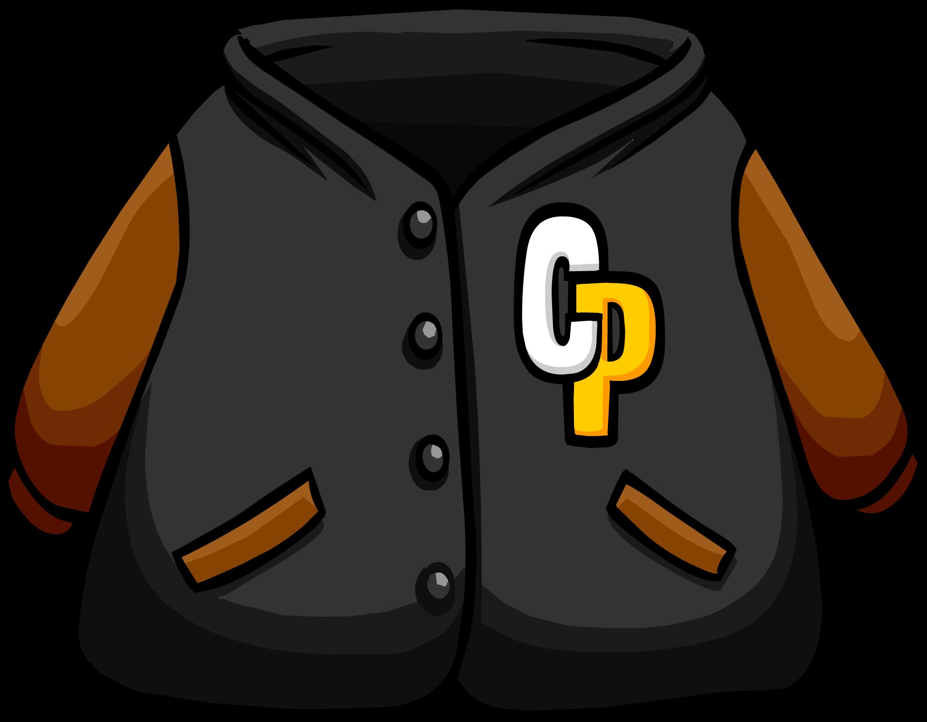 Black Letterman Jacket