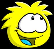 Yellow PuffleLookingRight
