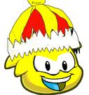 Yellow Yoshi puffle