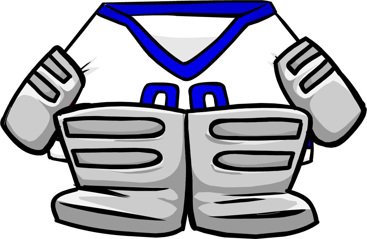 Blue Away Goalie Gear