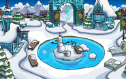 Frozen Fever Party 2016 Snow Forts frozen