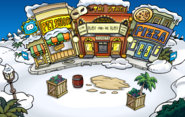 Island Adventure Party 2010 construction Plaza