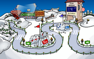 Penguin Games Snow Forts