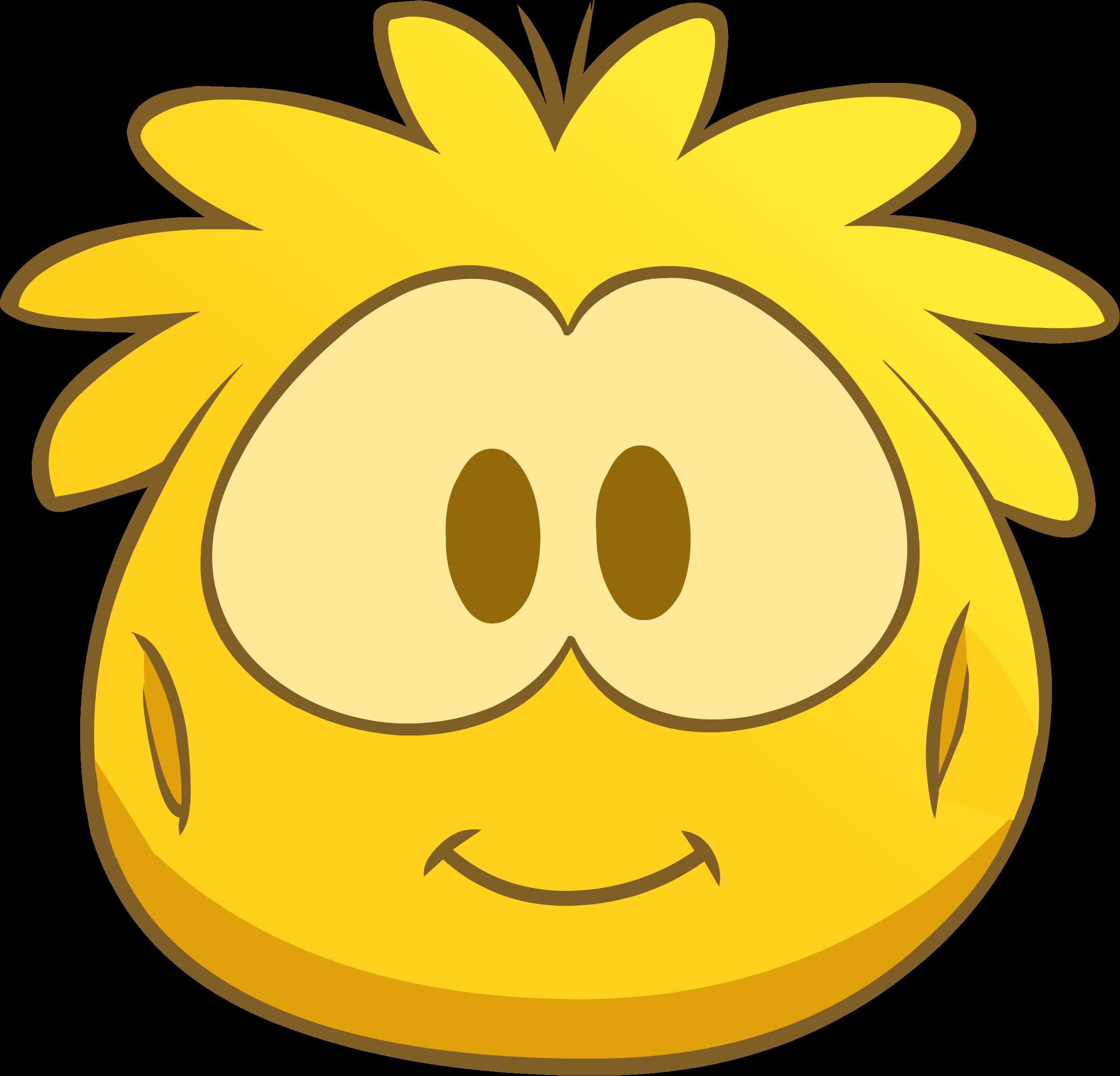 Disfraz de Puffle Dorado