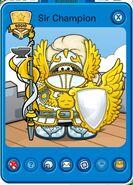 Tarjeta de Jugador de Sir Champion