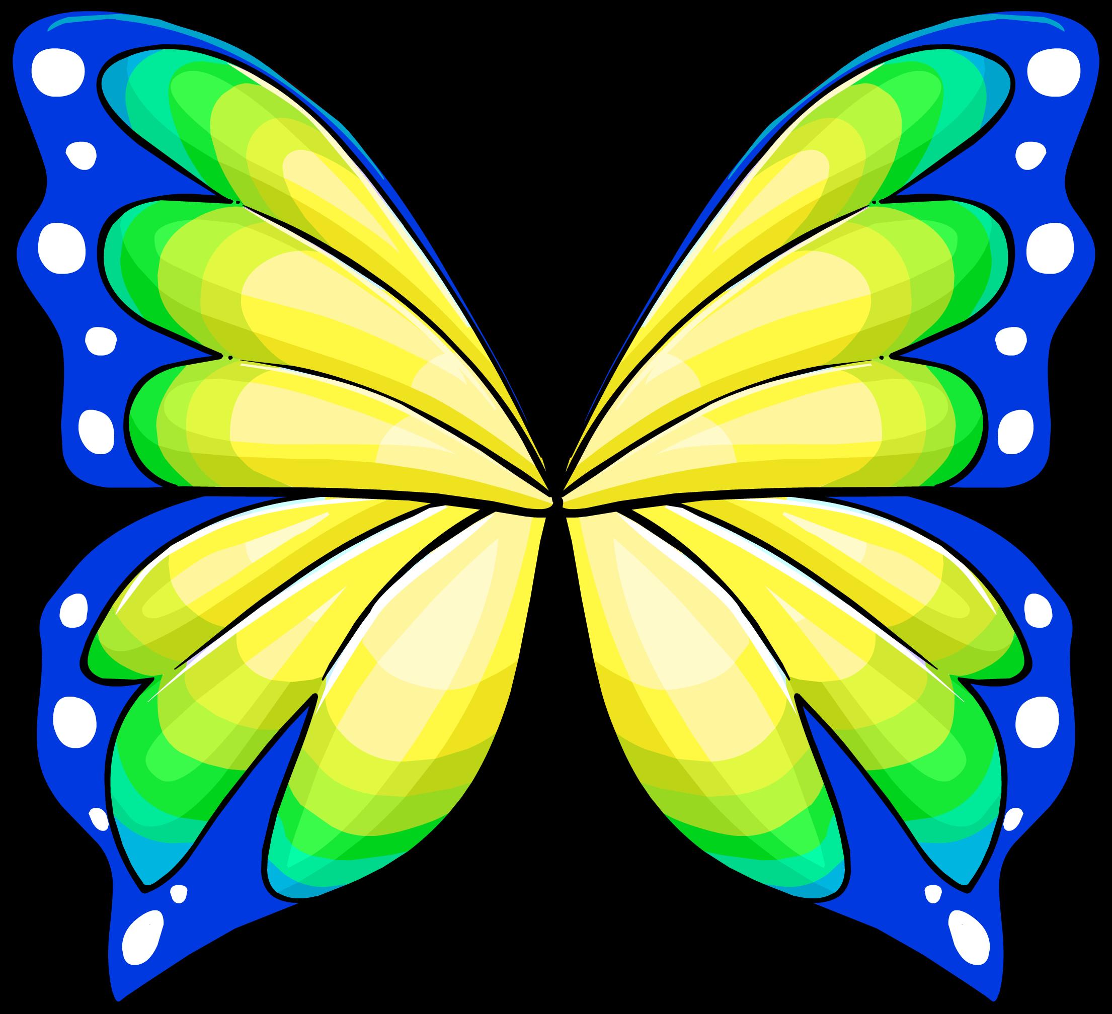Alitas de Mariposa Verdes
