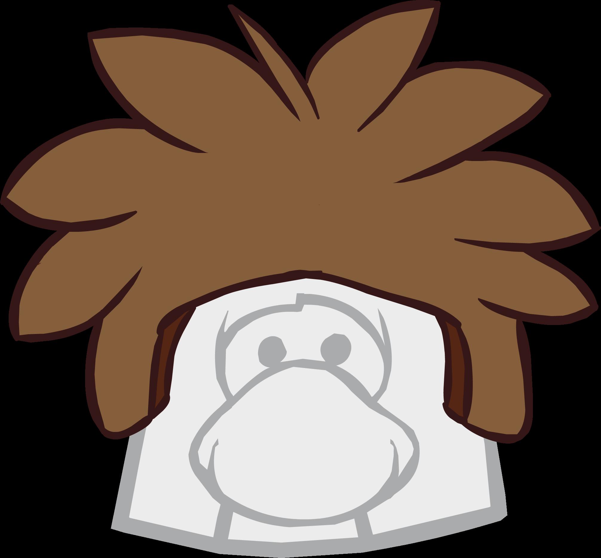 Brown Puffle Cap