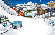Great Snow Race construction Ski Village