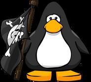 Bandera Pirata carta