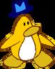 Doodle Dimension penguin Yellow hat