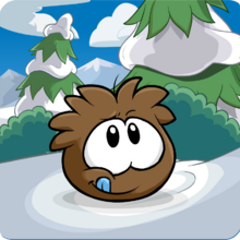 Puffle Party 2013 Transformation Puffle Brown.png