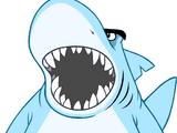 Sharks' Mascot Costume