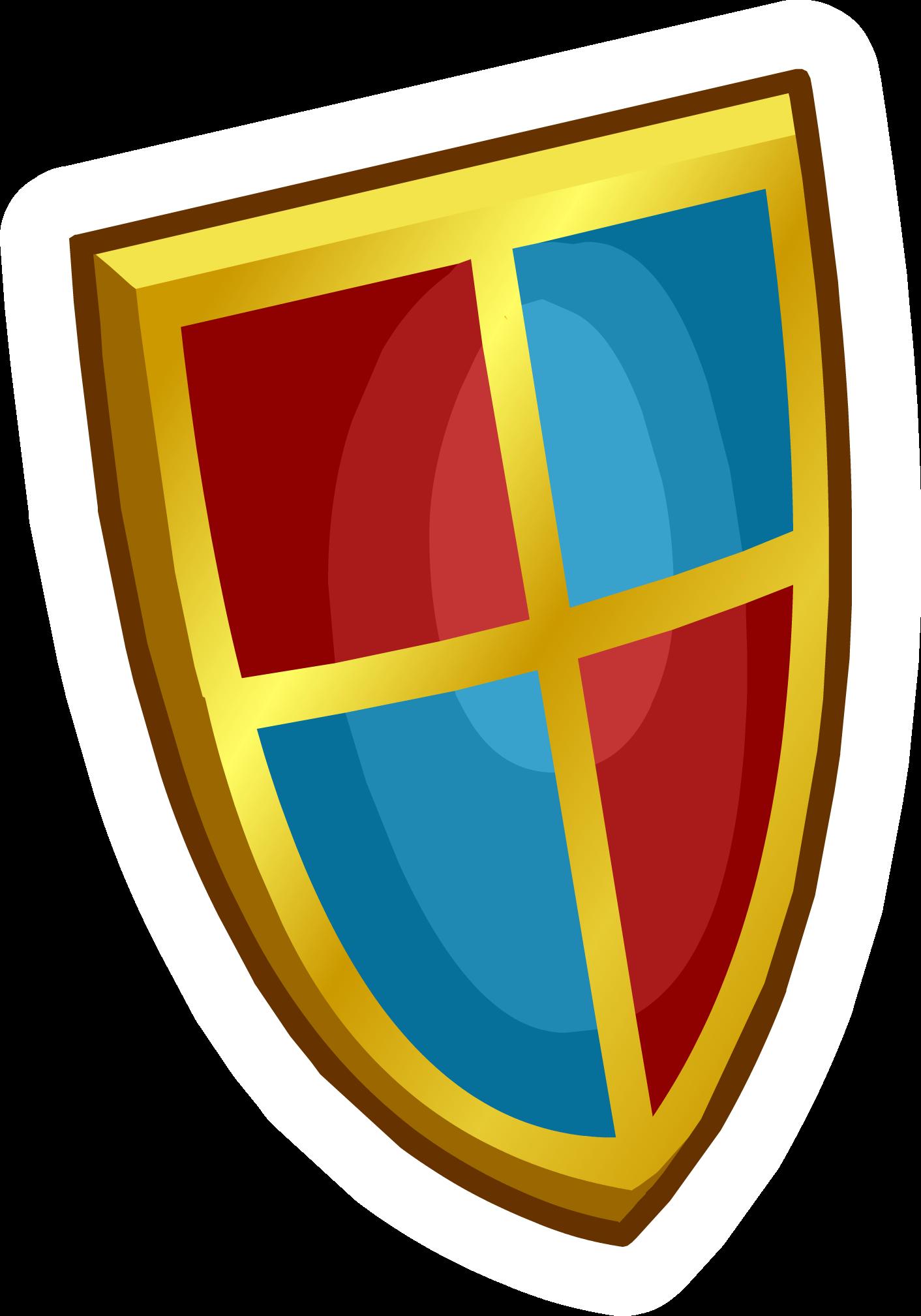 Pin de Escudo Medieval