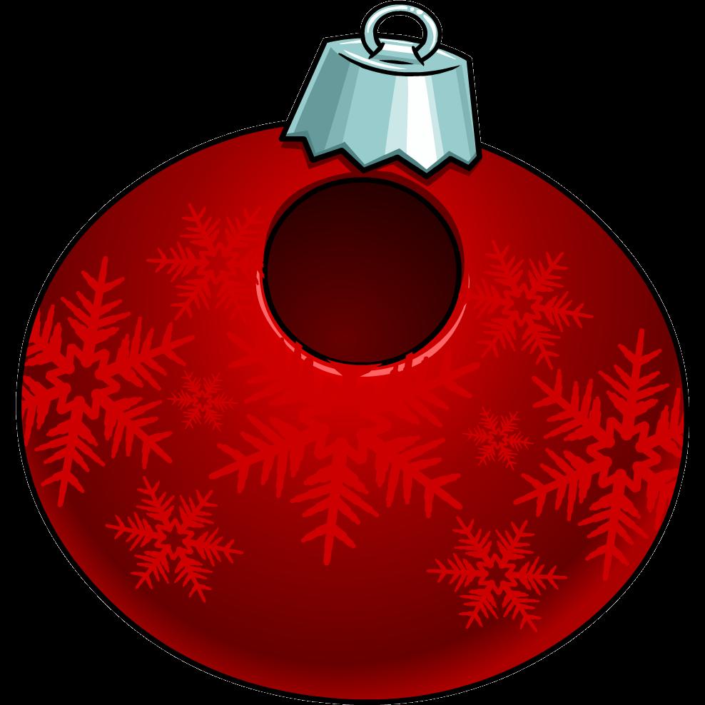 Disfraz de Adorno de Navidad Rojo