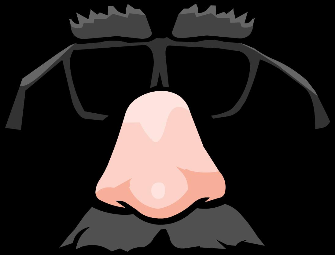 Anteojos de Caricatura