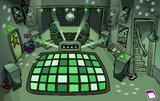 Night Club rave Dark Green