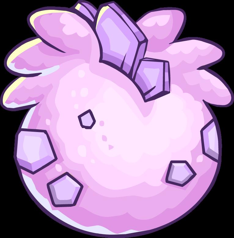 Huevo de Estegopuffle Rosa