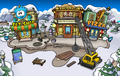 Puffle Party 2013 construction Plaza