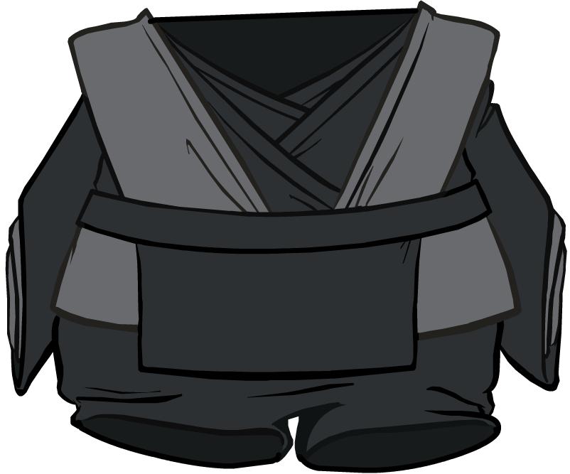 Atuendo de Jedi Negro