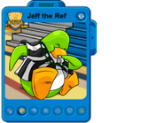 Jeff the ref player card