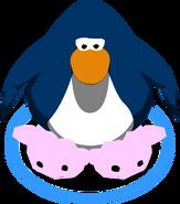 Pantuflas de Puffle Rosa juego
