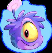 32. Puffle Extraterrestre Violeta