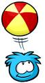 Blue Puffle Puffle Catalog Ball
