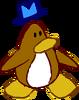 Doodle Dimension penguin Brown hat