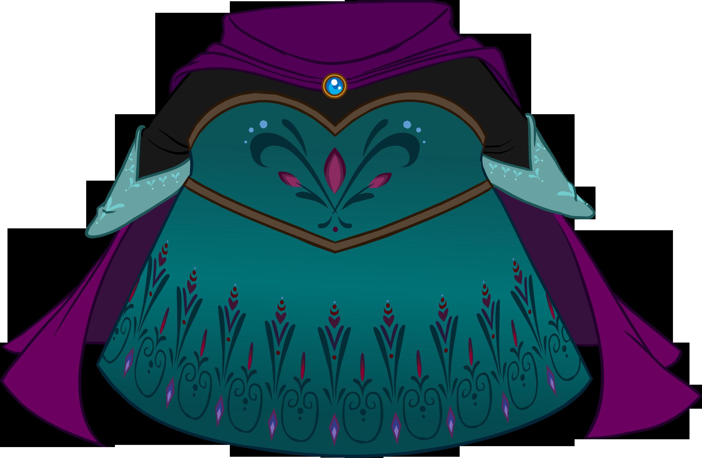 Vestido de Coronación de Elsa
