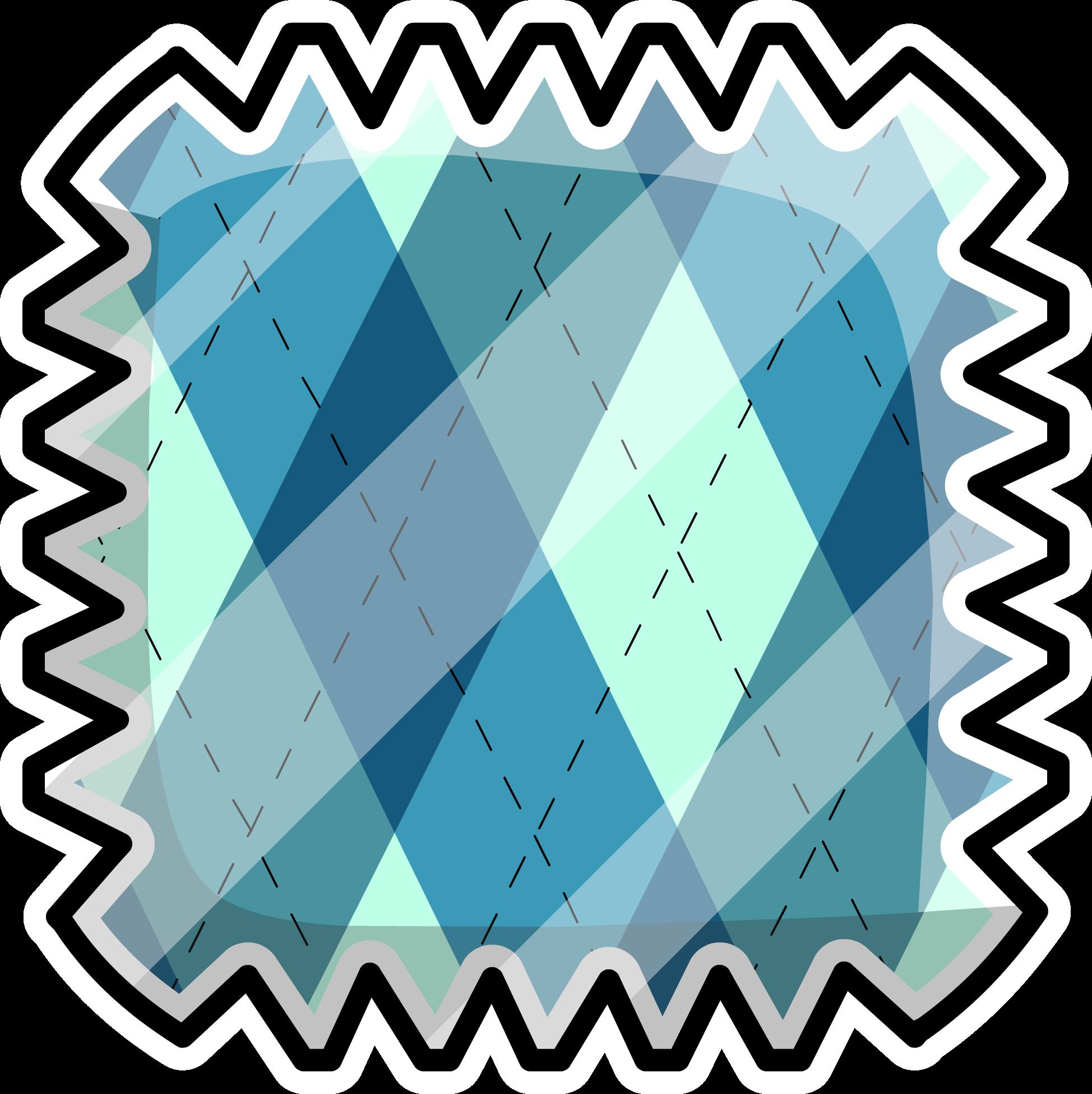 Argyle Pattern Pin