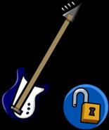 Blue Electric Bass unlockable icon