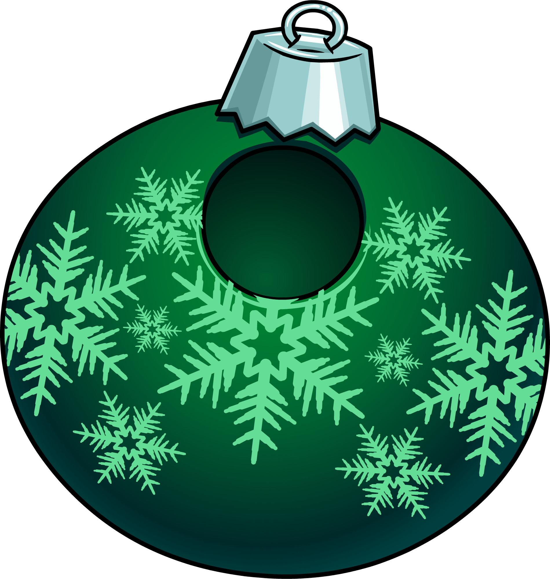 Disfraz de Adorno de Navidad Verde