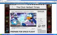 Herbert P. Bear takes over the newspaper 40209