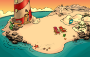 Sensei's Fire Scavenger Hunt Beach