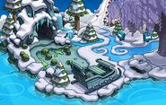 Frozen Party Beach frozen