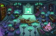 Halloween Party 2014 Puffle Hotel Sitting Room