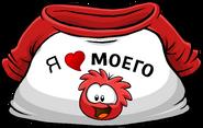I Heart My Red Puffle T-Shirt icon ru
