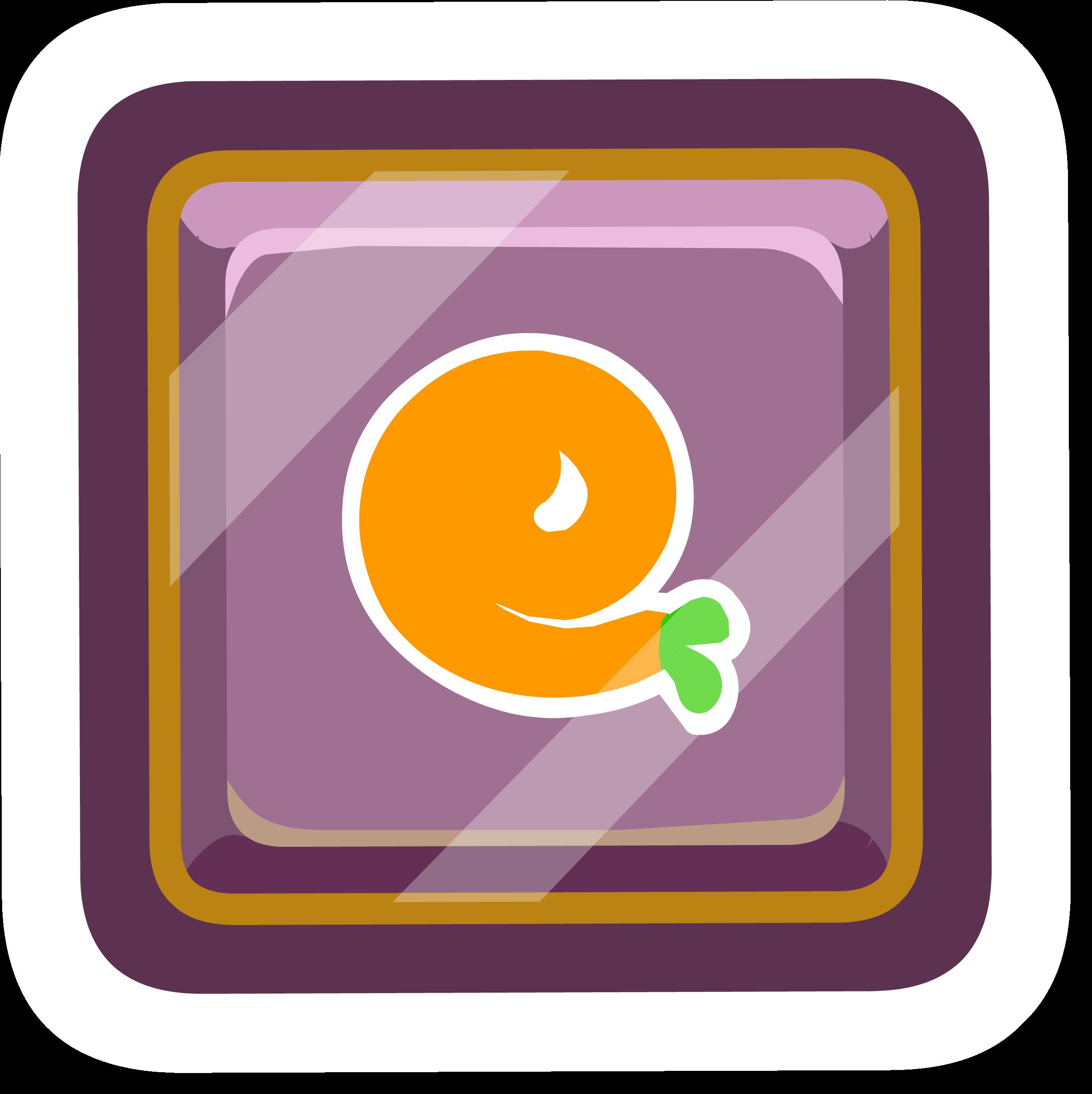 Pin de Puffito Naranja
