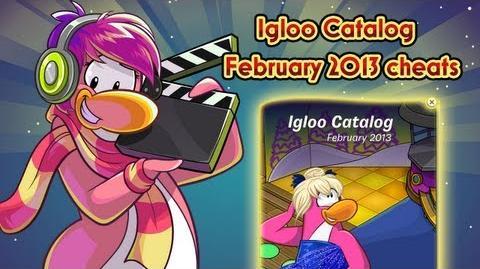 Club Penguin - Igloo Catalog February Cheats 2013 HD