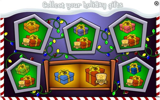 Daily Holiday Gift Calendar