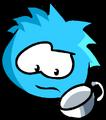 Blue PuffleCup