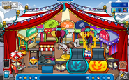 Igloo during the fair party 2014