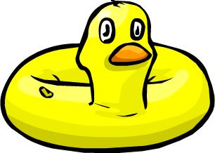 Inflable de Pato