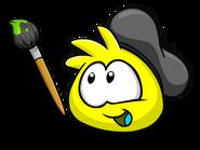 Yellow PufflePainting